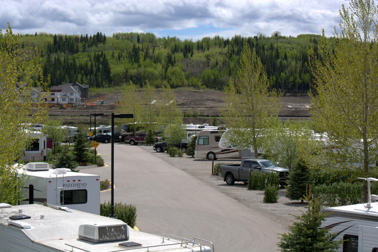Cochrane Alberta Canada Bow Riversedge Rv Campground